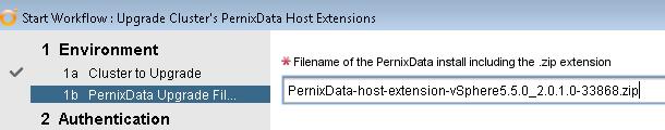 PernixData Upgrade File
