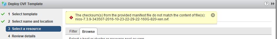 Errors Deploying Infoblox Appliances to vCenter 6 5 - Get-VM